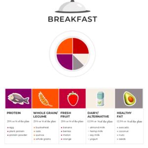 breakfast plate proportions